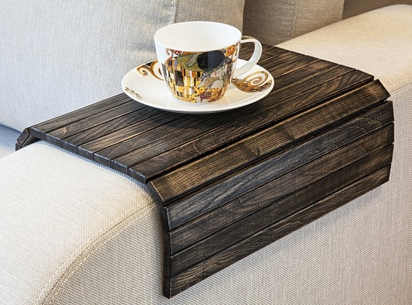 Instant tray for your sofa!