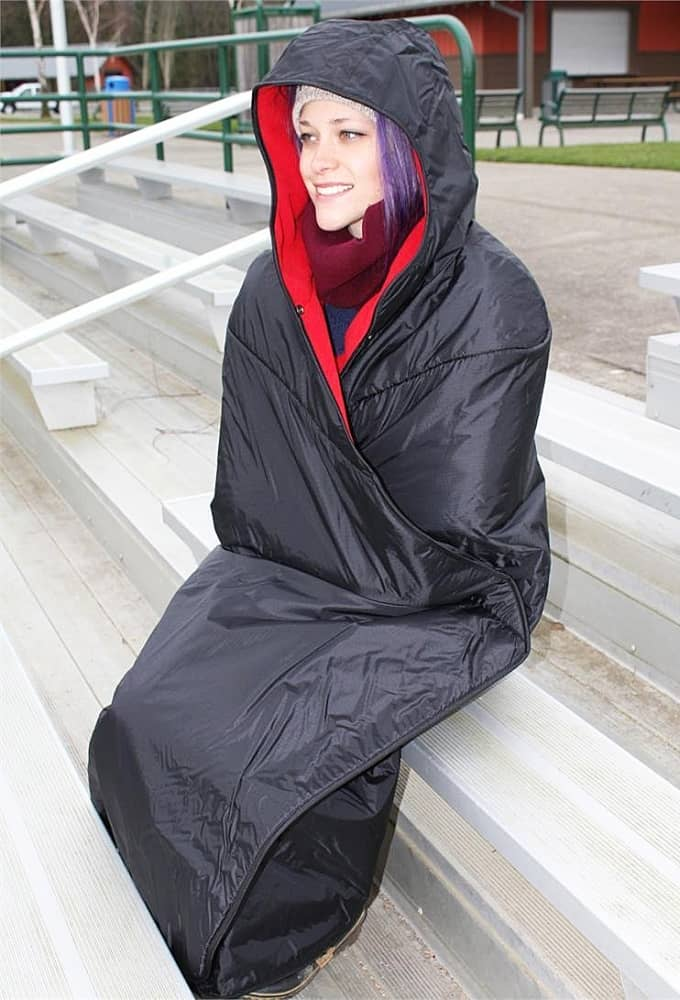 Mambe Extreme Waterproof Hooded Blanket Gift Idea For Outdoor Person