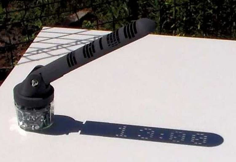 Mojoptix Digital Sundial Buy Garden Accessory