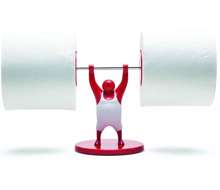 Monkey Business Mr T Roll Holder Unusual Design Bathroom Tools