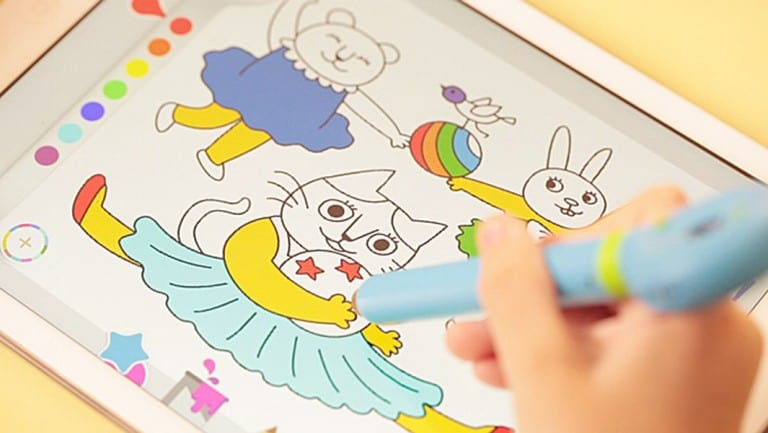 Mozbii Color Picking Stylus Pen Advanced Technology Kids Toy