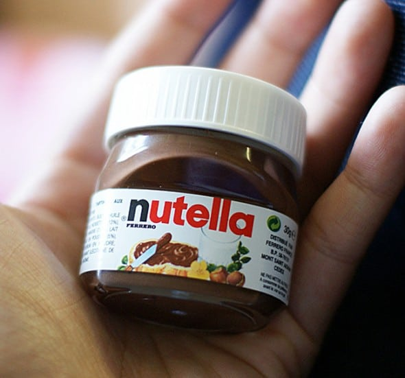 Nutella .88 Oz. Single Serve Bottle Gift Idea For Teens