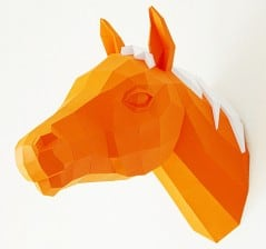 Orange horsey for a guilt free trophy.