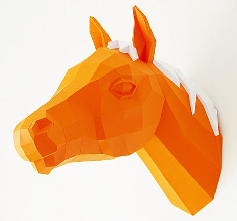 Paperwolfs-Shop-Paper-Horse-Trophy-Cool-Mancave-Stuff-to-Buy