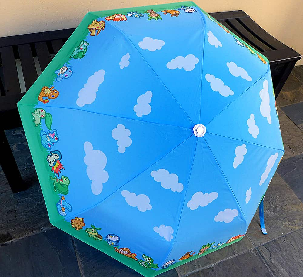 Pokemon Starter Parade Umbrella Anime Lover Must Haves