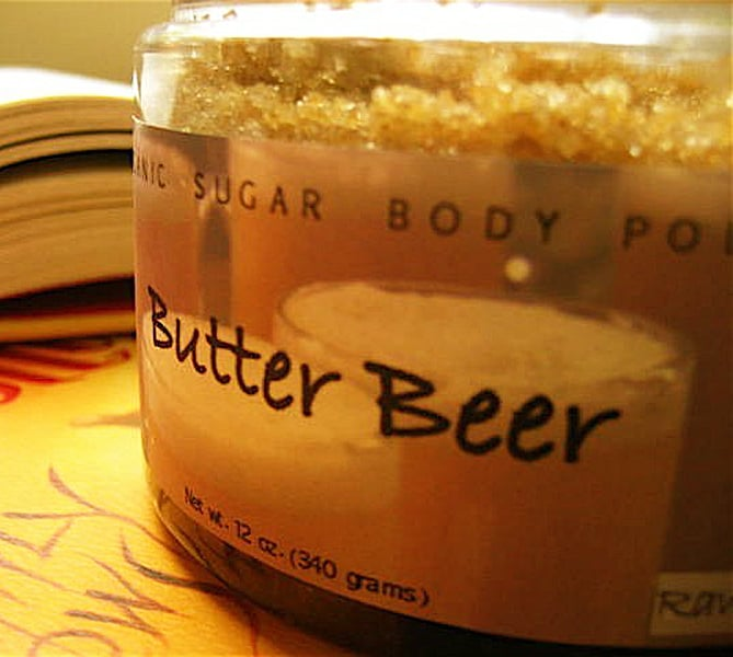 Raw Olive Butterbeer Organic Sugar Scrub Buy Handmade Bath Products