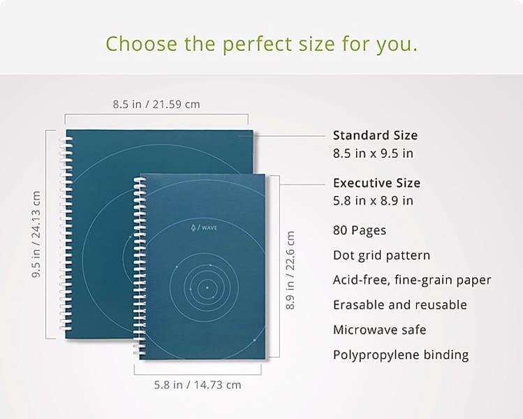 Rocketbook Wave Microwaveable Notebook Workaholic Must Haves