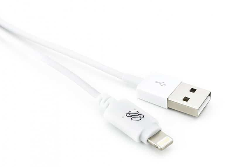 Sewell Direct Luminid Touch Lightning Cable Cool iPad Charger feature