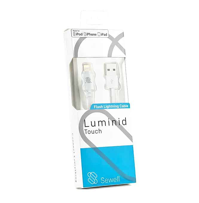 Sewell Direct Luminid Touch Lightning Cable Unique Device Tools