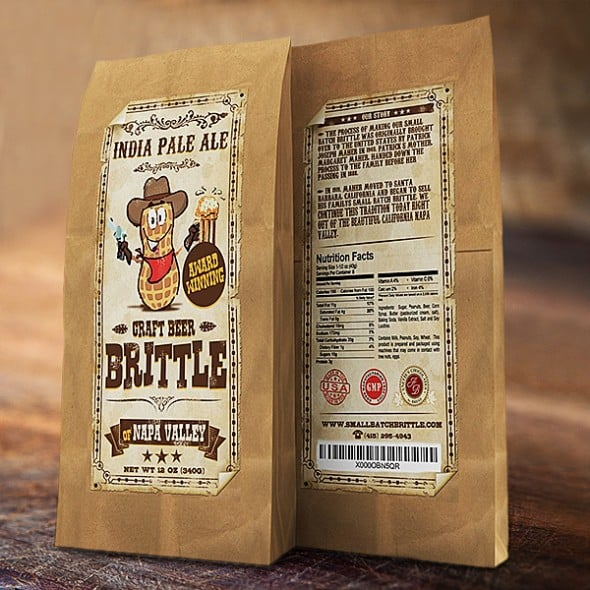 Small Batch Brittle Gourmet Beer Brittle Gift Idea For Her