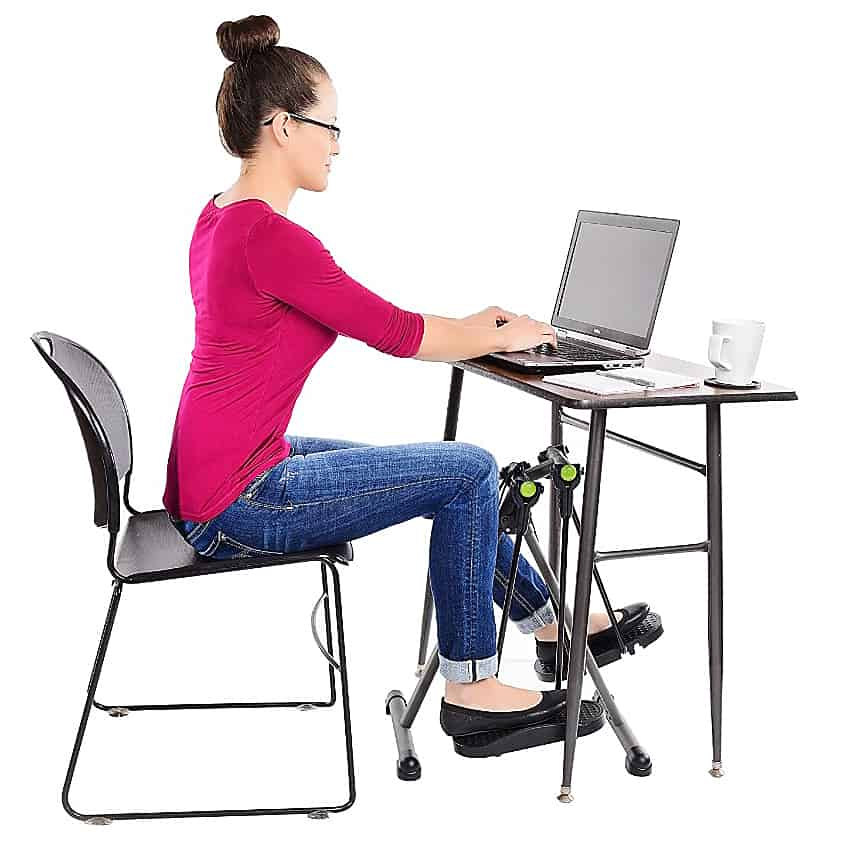 Exercise While Working On Your Desk