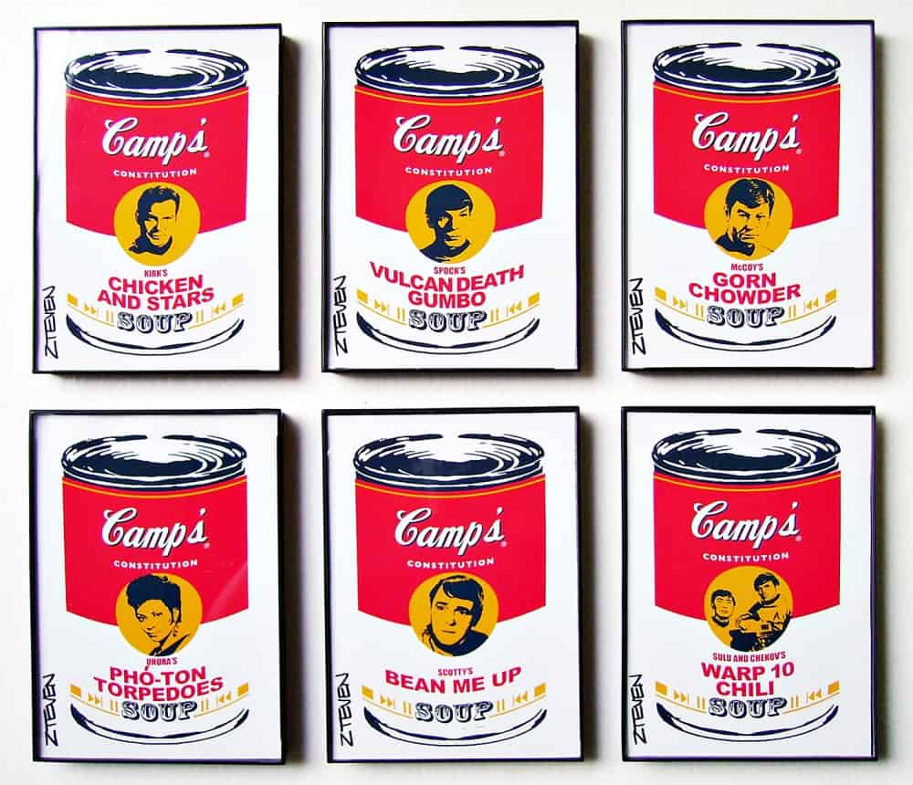 Beam me up, Warhol.
