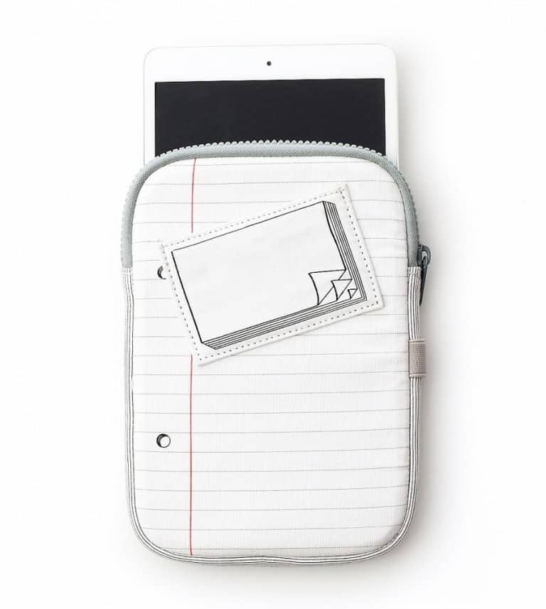 iPad Mini Doodle Case Drawable Device Accessory