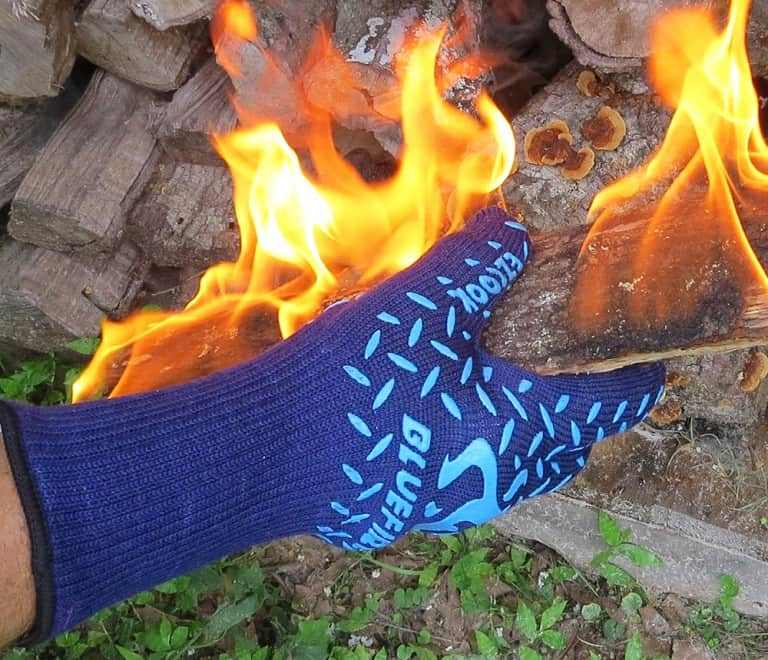 Blue Fire Pro Extreme Protection Gloves Gift Idea for Home Cooking