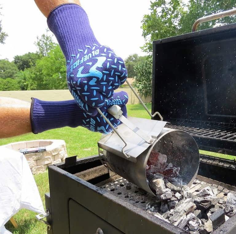Blue Fire Pro Extreme Protection Gloves Great Utility Work Gloves
