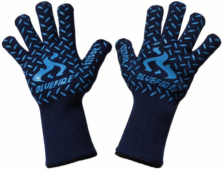 Blue Fire Pro Extreme Protection Gloves Safety Equipment from Heat