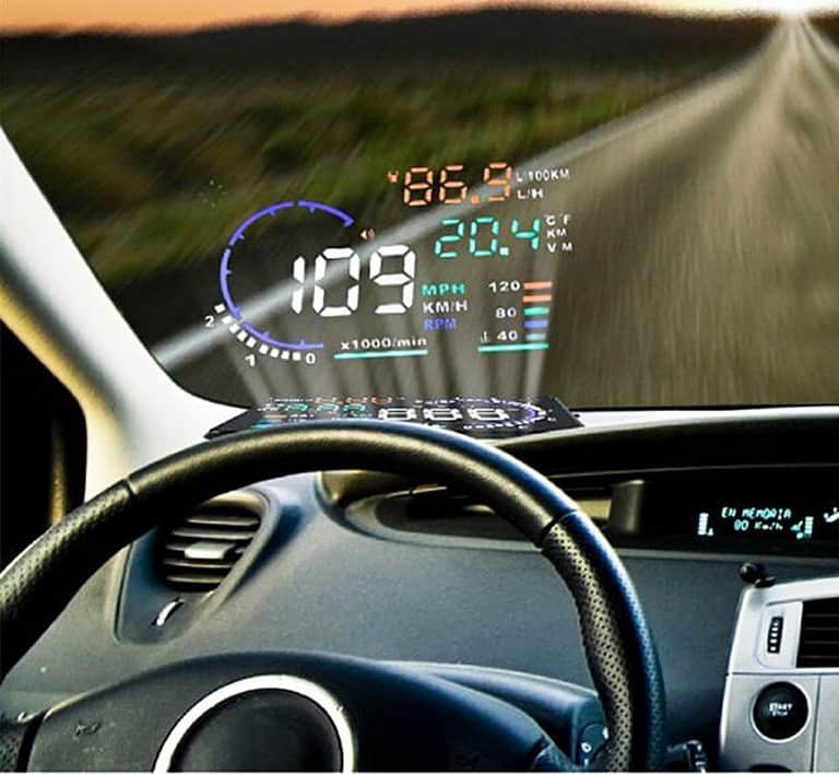 Car Head Up Display Monitor System Buy Unique Car Stuff