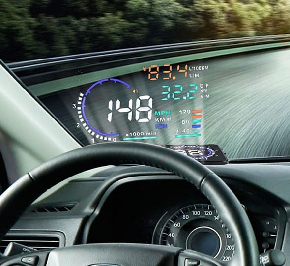 Car Head Up Display Monitor System Gift Idea For Him