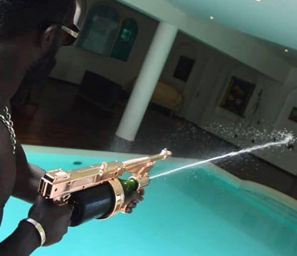 Champagne Gun Great Gift Idea for Party People