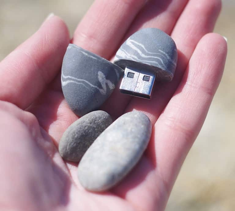 Clover Power Stone USB Flash Drive Gift Idea For Officemate