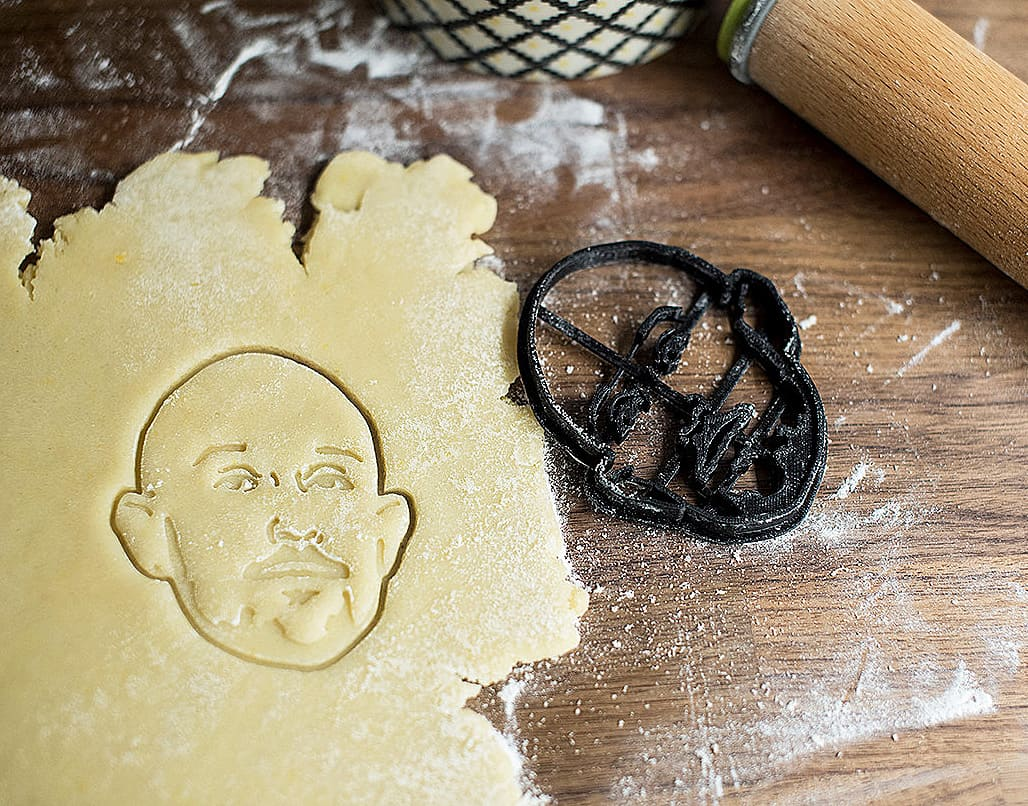 Copypastry Your Portrait Custom Cookie Cutter Unique Cutting Tool