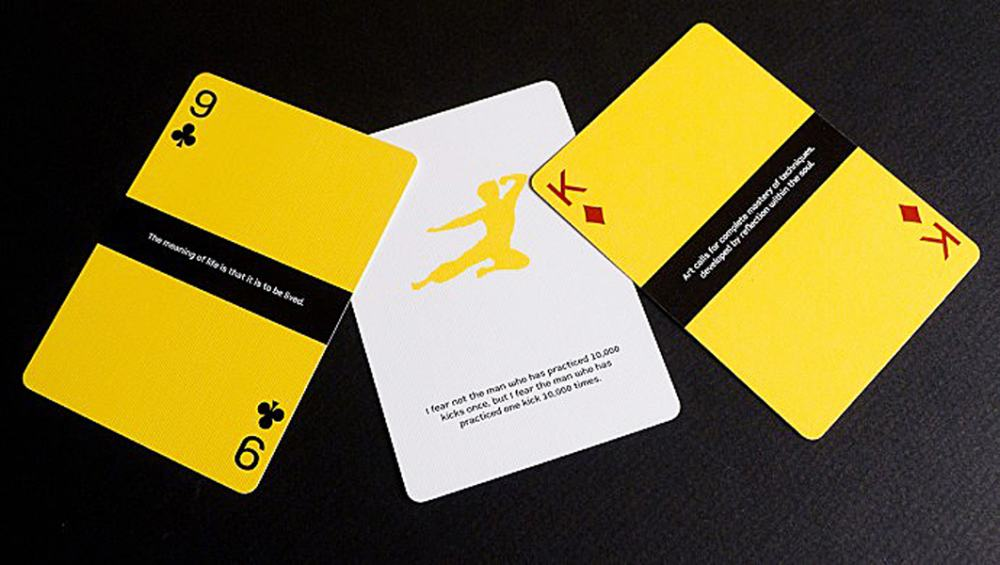 Dan & Dave Bruce Lee Playing Cards - NoveltyStreet
