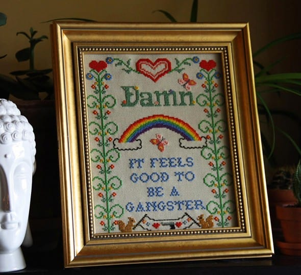 Grannie Panties Damn, It Feels Good To Be A Gangster Crochet Pattern Gift Idea For Grandparent