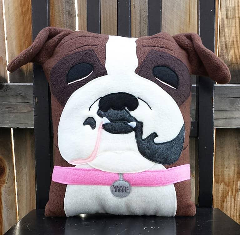 Heart Felt Design Custom Pet Portrait Pillow Gift Idea For Pet Lover