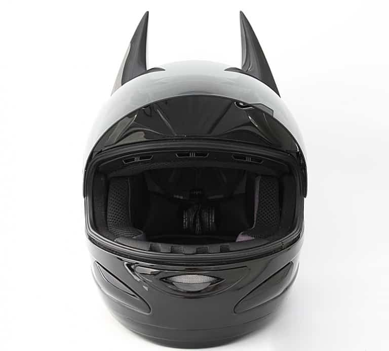 Helmet Dawg Dark As Night Helmet Fun Things Wear With Your Ride