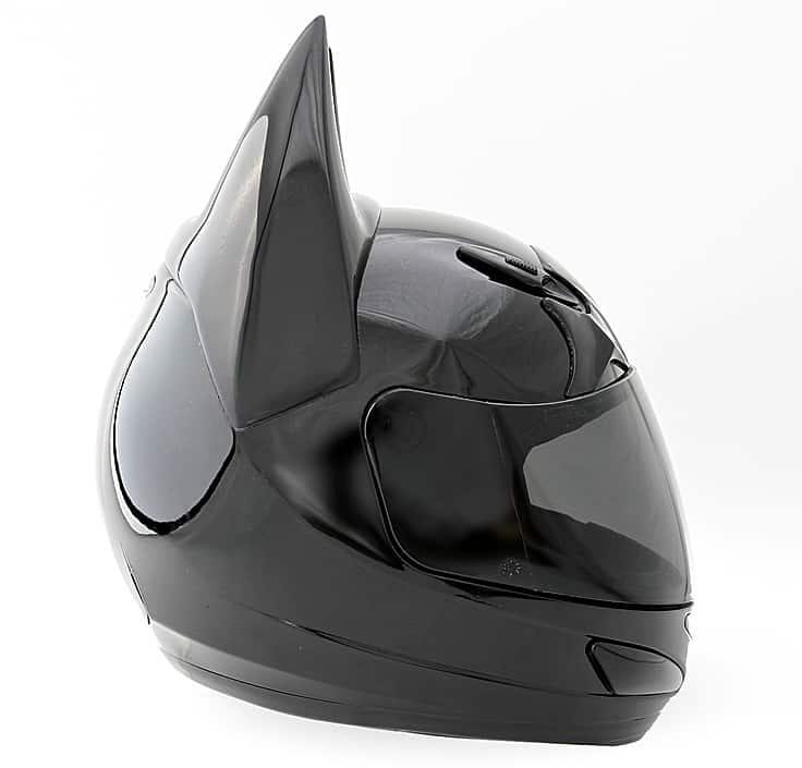 Helmet Dawg Dark As Night Helmet Motorcycle Accessory