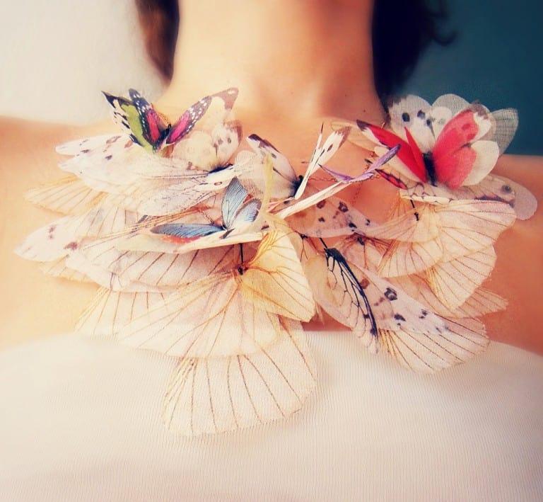 Jewelera Fluttery Butterfly Necklace Buy Cute Fancy Jewelry