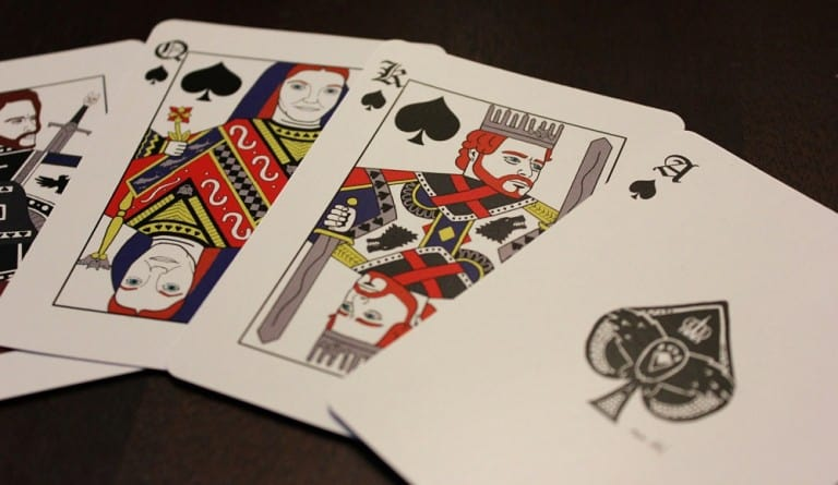 Joker And TheThief Game of Thrones Playing Cards Unique Card Face Design