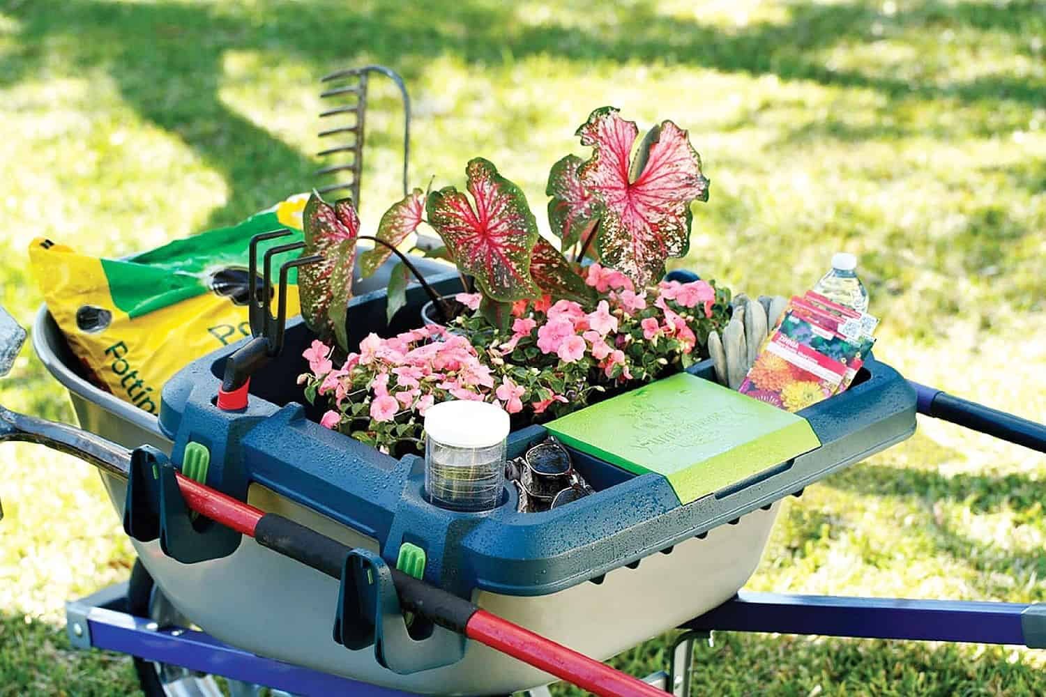 Little Burro Wheelbarrow Organizer Buy Backyard Stuff