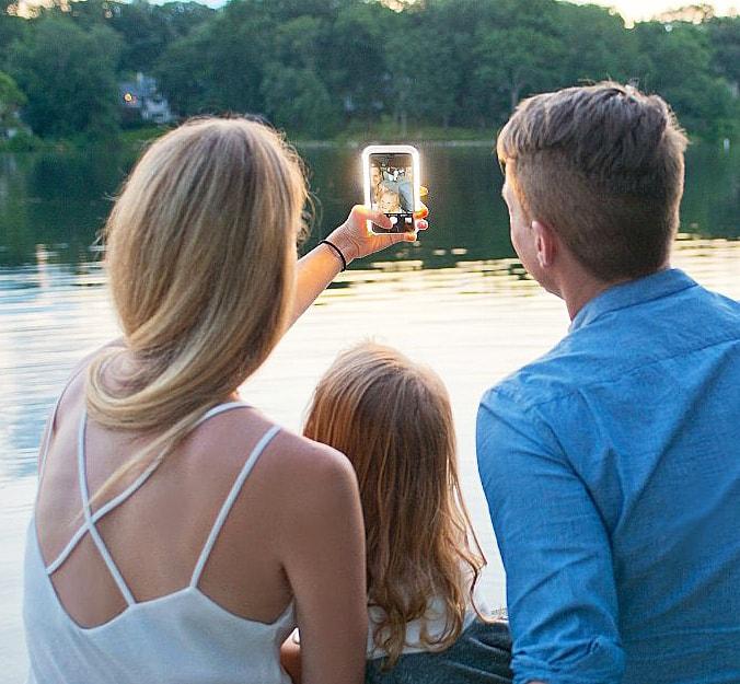 Lumee Illuminated Cell iPhone Case Fun Selfie Gear