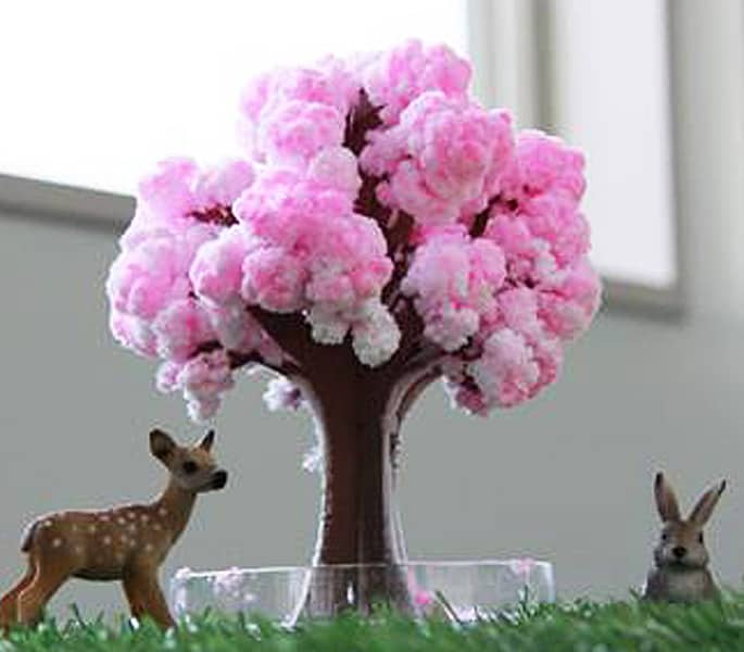Magic Sakura Tree Cute Pink Room Design