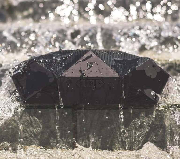 Outdoor Technology Big Turtle Shell Rugged Boombox Water Resistant Speaker