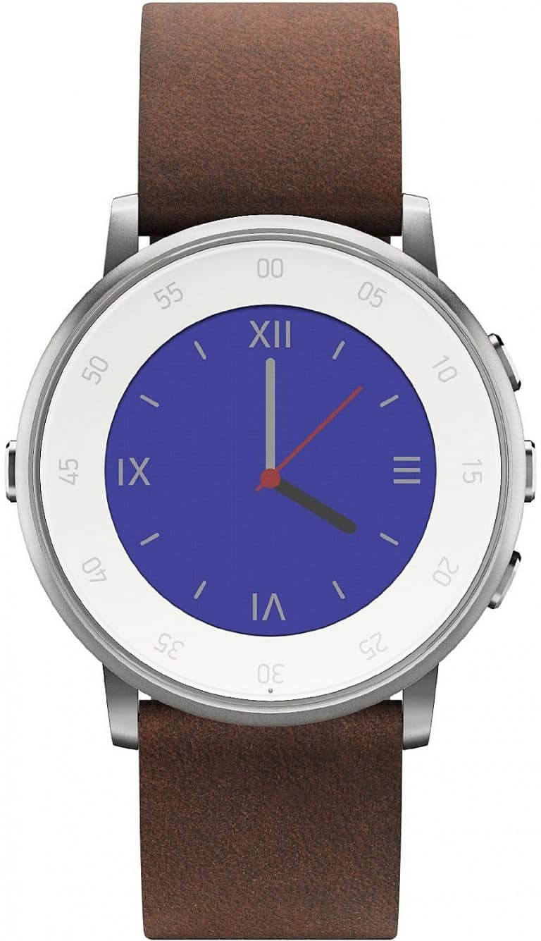 Pebble Time Round Smartwatch Fashion Wear For Men