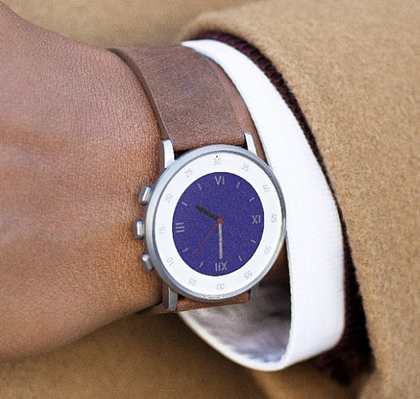 Pebble Time Round Smartwatch Gift Idea For Him