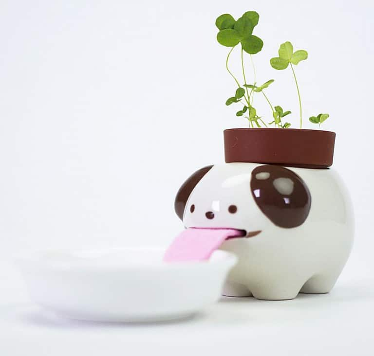 Peropon Drinking Animal Planters Cool Planting Equipment