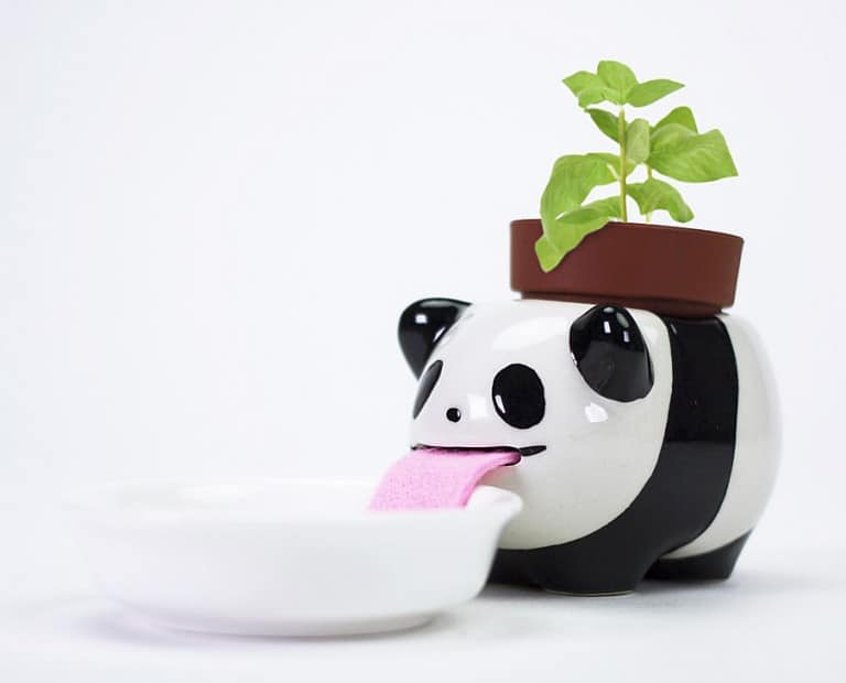 Peropon Drinking Animal Planters Cute Garden Tools