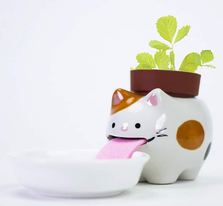 Peropon Drinking Animal Planters Fun Pots