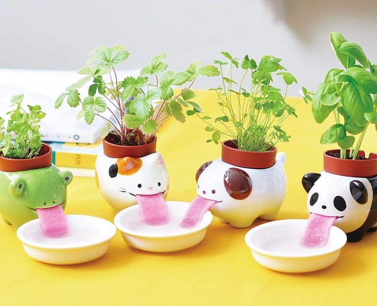 Peropon Drinking Animal Planters Gift Idea For Her