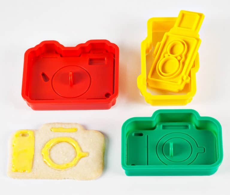 Photojojo Camera Cookie Cutter Set Fun Kitchen Tool