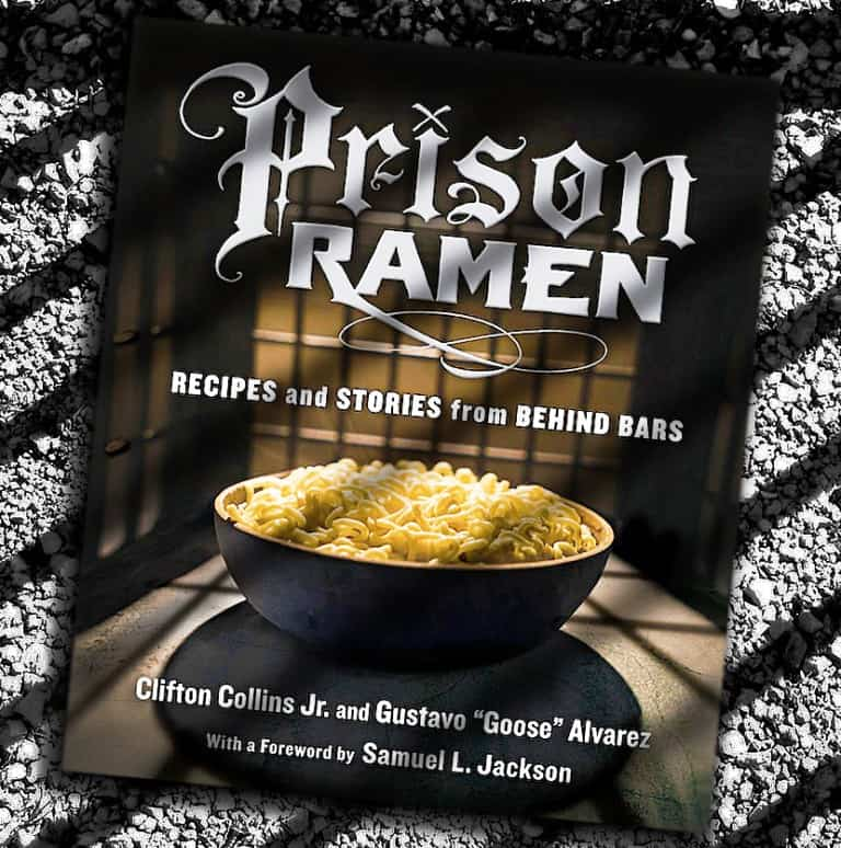 Prison Ramen Book Buy Cool Food Stuff