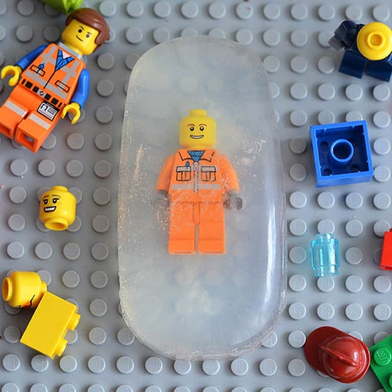 Range Tes Jouets Lego Figurine Soap Nice Gift Idea for Children
