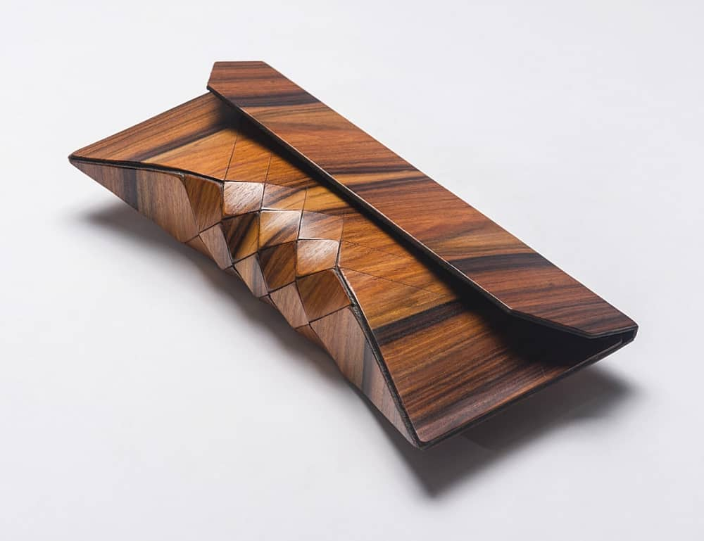 Tesler Mendelovitch Wood Clutch Buy Unusual Girly Stuff