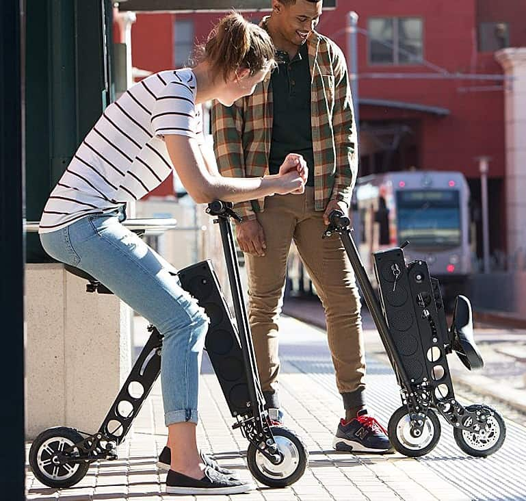 URB-E Electric Folding Scooter Gift Idea For Teenager