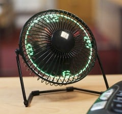 Time to look at your fan.