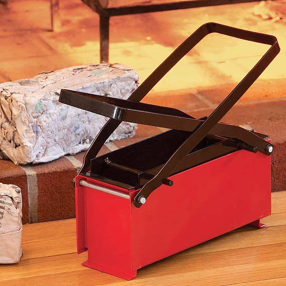 Briquette Press For Home Use ~ Bits and pieces newspaper briquette maker noveltystreet