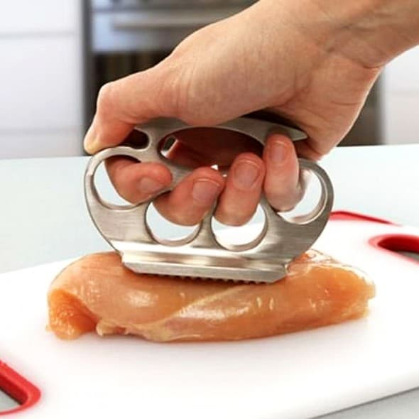 DCI Knuckle Pounder Meat Tenderizer Gift Idea for Chef